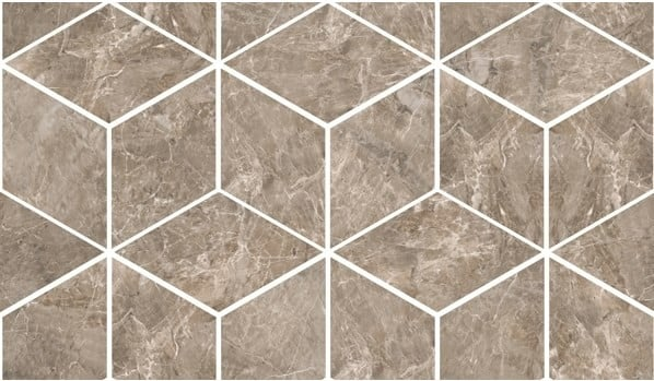 MARBLE Versace Home Mosaici T3-3D Grigio 240836