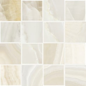 Charme Gardenia Orchidea Mosaico Dama Bidimensionale Mix Light 44290