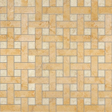Palace Living Versace Home Mosaici Chesterfield Oro/Almond 8762