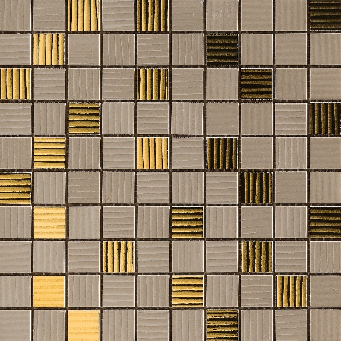 Gold Versace Home Mosaici Marrone/Oro 68903
