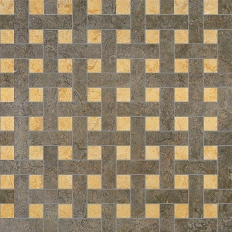Palace Living Versace Home Mosaici Chesterfield Nero/Oro 8764