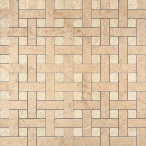 Palace Living Versace Home Mosaici Chesterfield Beige/Almond 8760