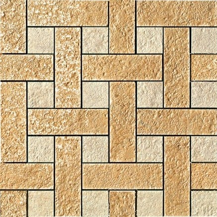 Palace Stone Versace Home Mosaici Chesterfield Oro-Almond 114341