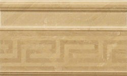 Venere Versace Home Battiscopa Fascia Rilievo Oro 68102