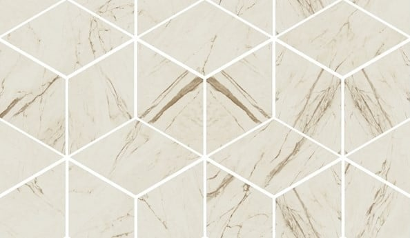 MARBLE Versace Home Mosaici T3-3D Bianco 240831