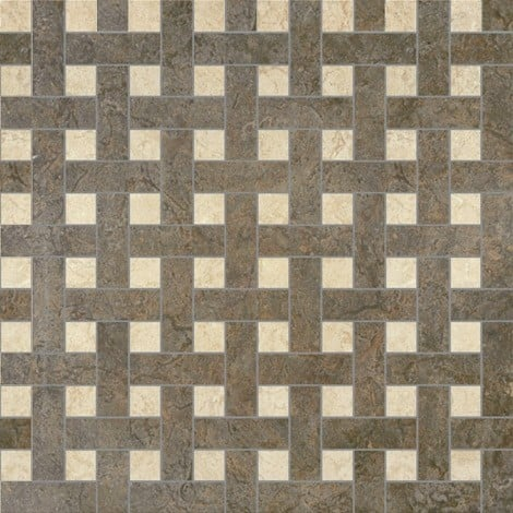 Palace Living Versace Home Mosaici Chesterfield Nero/Almond 8763