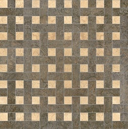 Palace Living Versace Home Mosaici Chesterfield Nero/Beige 8765