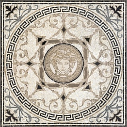Exclusive Versace Home Rosone Mos.White-Blac 68301