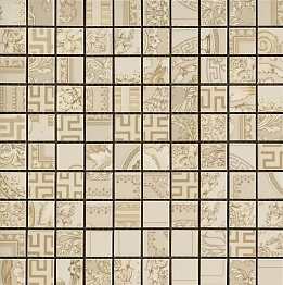 Gold Versace Home Mosaici Patchwork Crema 68911